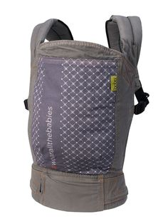 """4G Carrier """"Wear All the Babies"""" from Boba. Available at ButtonTreeKids.com #shop #kids #boutique #newborn #baby #carrier"""
