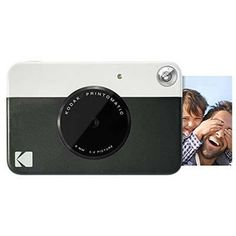 Shop Kodak PRINTOMATIC Digital Instant Print Camera (Black), Full Color Prints On ZINK Sticky-Backed Photo Paper - Print Memories Instantly. Best Portable Photo Printer, Compact Photo Printer, Instant Print Camera, Instant Film Camera, Photo Equipment, Photography Equipment, Print Your Photos, Black Print