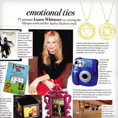 Laura Whitmore features the Chakra necklaces in YOU Magazine http://www.cottonandgems.com/blog-news/laura-whitmore-features-the-daisy-chakra-necklaces