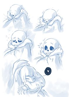 Sans and Frisk being cuties. click to see the rest of the comic.  Undertale