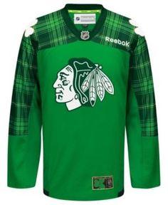 Reebok Men s Chicago Blackhawks St. Patricks Day Jersey - Green XXL  Blackhawks Hockey 7b52b50a8
