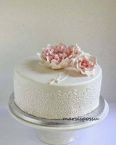 Christening Cake Girls, Confirmation Cakes, Girl Cakes, First Communion, Yummy Cakes, Cake Toppers, Cake Decorating, Baking, Desserts