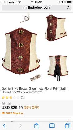 c0dd084b8b0 New Retro Brocade Gothic Steel Boned Steampunk Corset Underbust Costume Women  corset Buckle Leather Bustiers Top