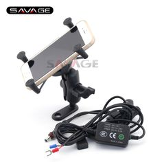 37.99$  Watch here - http://aligty.shopchina.info/go.php?t=32679609773 - For KTM DUKE 125 200 390 690 690R  Motorcycle Navigation Frame Mobile Phone Mount Bracket with USB charger 37.99$ #buychinaproducts