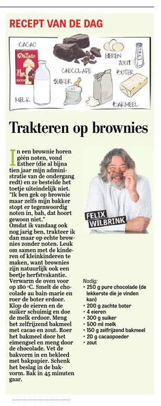 Trakteren op brownies