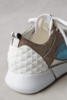 Elena Iachi Happy Iridescent Sneakers - anthropologie.com