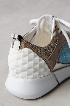 Elena Iachi Happy Iridescent Sneakers - anthropologie.com