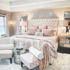 Best 27 Room Decor Bedroom Design Ideas For Your Inspiration Home Decor Inspiration, Beautiful Bedrooms, Bedroom Makeover, Bedroom Images, Luxurious Bedrooms, Home Decor, Room Decor Bedroom, Glam Bedroom Decor, Master Bedrooms Decor