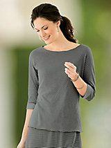 Voyager Reversible Boatneck Tee | Women's Activewear | Appleseeds