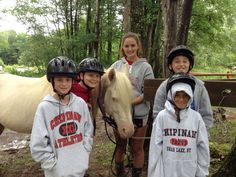 Did you know that down at our stables the campers can get to know the horses, learn how to groom them and go on long trail rides? Horseback at Chipinaw is the best!
