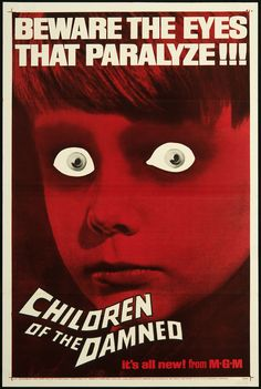 Children of the Damned - U.S. One Sheet - Original Vintage Movie Poster | FFF Movie Posters