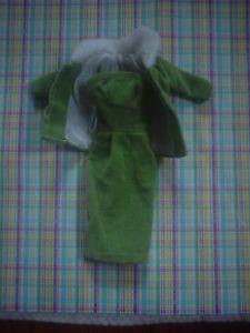 Vintage Barbie Babs Bild Lilli Doll Clothes Fablu Velour Dress Clone Hong Kong | eBay