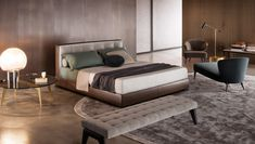 Smink Incorporated | Products | Beds & Bedroom Furniture | Minotti | Bedford