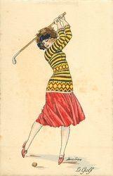 Irresistible Looking Great Ladies Golf Fashion Ideas. Mesmerizing Looking Great Ladies Golf Fashion Ideas. Ladies Golf Clubs, Best Golf Clubs, Girls Golf, Women Golf, Golf Attire, Golf Outfit, Decoupage, Golf Cards, Vintage Golf