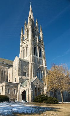 Mercersburg Academy Chapel, PA  Beautiful concerts at Christmas and Easter.
