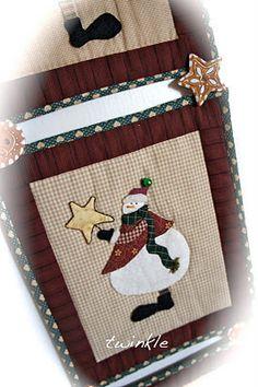 TWINKLE PATCHWORK: Miniquilts para la Navidad