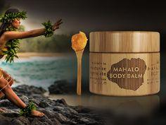 MAHALO | Mahalo Balm Multi-Care | AHAlife with polynesian tamanu + supercritical turmeric for face & body.