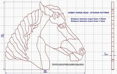 The hobby horse is one of the oldest known toys. In our hobby horse plan we presented two versions of this old folk toy. Woodworking For Dummies, Woodworking Books, Woodworking Patterns, Intarsia Wood Patterns, Wood Carving Patterns, Antique Rocking Horse, Face Doodles, Horse Fabric, Horse Crafts