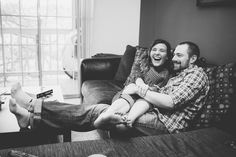 #Pittsburgh at-home #engagement photos | Photo by Tillie & Rose | In Pursuit of Simple