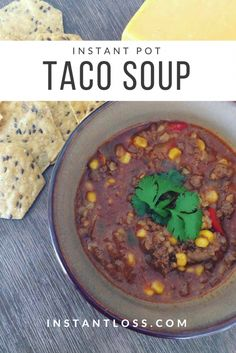 Instant Pot Taco Soup is one of my yummiest go to's. Plus it makes getting rid of leftovers so easy, you basically just toss everything into the pot, and it's Instant dinner! INGREDIENTS 1 lb Ground Meat or 1 lb Chicken Breast 1 Onion, diced 1 Red …