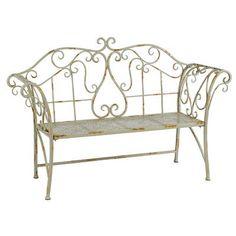 Winward Designs Metal Garden Bench