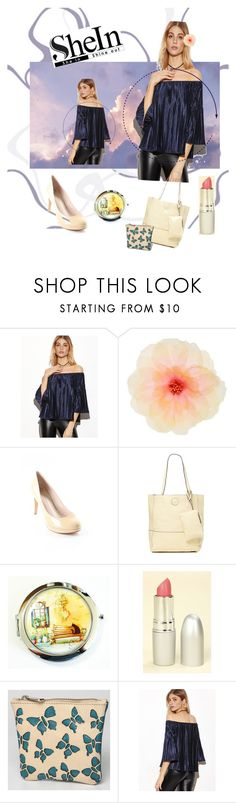 """Untitled #57"" by kristina-sandvig ❤ liked on Polyvore featuring Vince Camuto, Joy Accessories, TheBalm and Sampson & Christie"