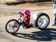 Pedal power lowboy