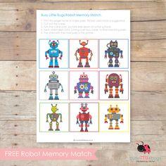 FREE ROBOT MEMORY MATCH