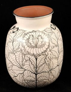 Vintage Ceramic Vase from Huancito, Mexico. Hand Painted, Signed by Artist, Rare http://www.ebay.com/itm/Vintage-Ceramic-Vase-Huancito-Mexico-Hand-Painted-Signed-by-Artist-Rare-/321708425733?ssPageName=STRK:MESE:IT