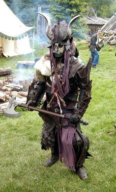 Goblin or orc shaman larp v2.0 by Markehed.deviantart.com on @deviantART