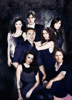 Charmed. Paige Matthews, Chris Perry, Prue Halliwell, Cole Turner/Belthazor, Phoebe Halliwell, Piper Halliwell, Leo Wyatt.