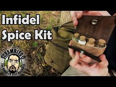 Bushcraft Kit - Infidel Spice Kit - http://survivinghub.com/bushcraft-kit-infidel-spice-kit/