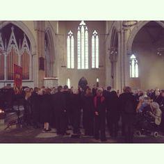Blackburn Peoples Choir at Holy Trinity Church - Blackburn is Open Street Party #biostreetparty #blackburnisopen #blackburn #streetparty