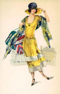 1920s art deco illustration