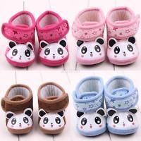 0-12Months Baby Girl Newborn Winter Warm Boots Toddler Soft Sole Crib Shoes C82