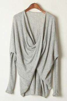 Twist High-low Sweater