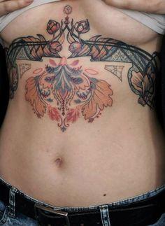 art deco tattoo from talented tattoo artist Aďa https://www.facebook.com/AdaTattoos?fref=ts