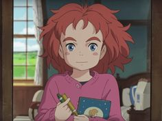 """""""Mary and the Witch's Flower"""" to be the first film from Studio Ponoc, a new animation firm established by former Studio Ghibli staff. Ghibli, Studio, Animated Movies, Fantasy Films, Japanese Animation, Studio Ghibli Movies, Witch, Animation, Family Movies"""
