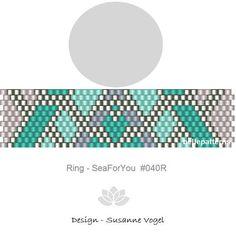 peyote ring patternPDF-Download 040R beaded ring pattern