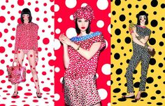 Louis Vuitton Yayoi Kusama Collection ~ Vintage fashion trends, design, celebrity news and style tips on HighEnd Unforgettables
