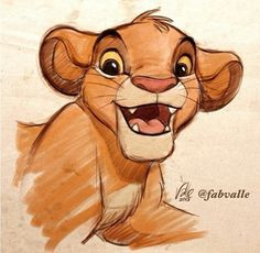 6. Favorite Animal: Simba. For the longest time was my overall favorite character. The Lion King. There's just so much.