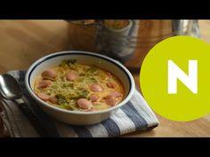 Frankfurti leves egyszerűen recept képpel. Hozzávalók és az elkészítés részletes leírása. A frankfurti leves egyszerűen elkészítési ideje: 50 perc