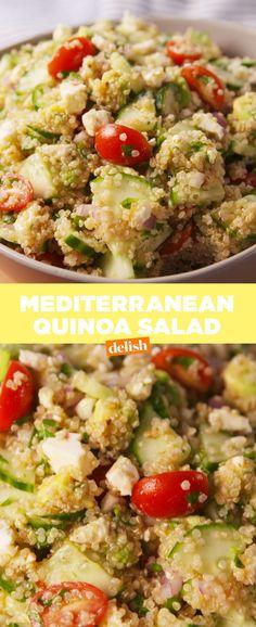 Zesty Mediterranean Quinoa Salad