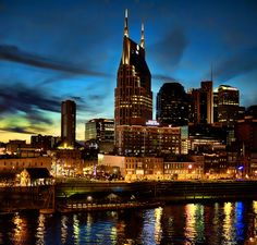 Nashville - lived there for about six months, I'd love to go back ... often.
