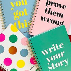 Write your story!Tap to shop 👆 Cute Stationary, Stationary Design, Stationery Set, Creative Notebooks, Creative Bookmarks, Diy Notebook, Notebook Design, Hello Friday, Hello Saturday