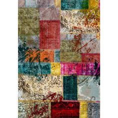 Ambianzz Bedding : CP PATCHWORK MULTI