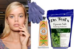 Beauty Tips For While You're Sleeping - good ideas! Especially for this time of year (winter)