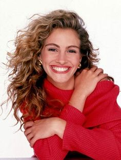 Best Long Hairstyles: Julia Roberts - would totally wear my hair like this now if I could!!