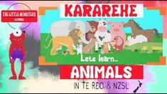 First part of the Little Monster series, incorporating the main languages of New Zealand - English, Te Reo and Sign Language (NZSL). We look at animal names . Baby Sign Language, American Sign Language, New Zealand English, Little Monsters, School Resources, Motion Design, Story Time, Kids Learning, Literacy