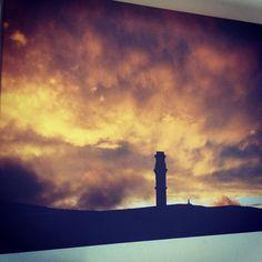 India Mill over Darwen by Matt Donnelly